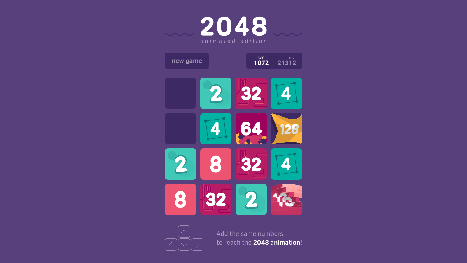 Learn Russian With 2048 Game! - Language Step By Step